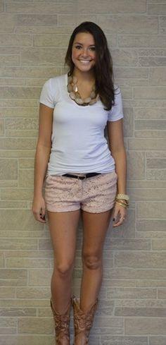 Little Lace Shorts, 3 Colors