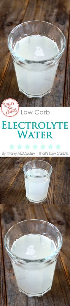 Low Carb Recipes | Low Carb Drink Recipes | Electrolyte Water Recipe | Rehydrate