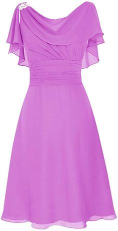 18f47fe3d7 Dresstells reg; Scoop Chiffon Backless Prom Dress Evening Dress Evening  Party Dress: Amazon.