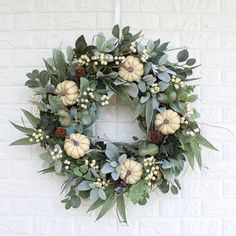 Autumn Wreaths For Front Door, Fall Door, Fall Wreaths, Door Wreaths, Halloween Wreaths, Boxwood Planters, Boxwood Wreath, Fall Harvest Decorations, Vintage Wreath