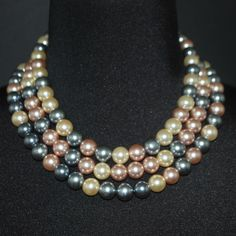 Beaded women's necklace.