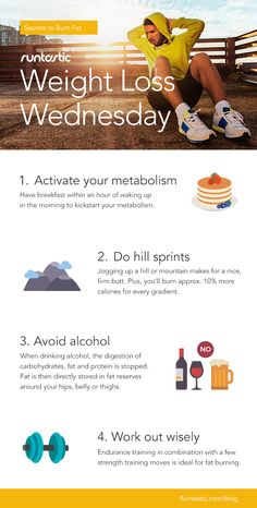 Good #WeightLossWednesday tips from our friends at @runtastic !