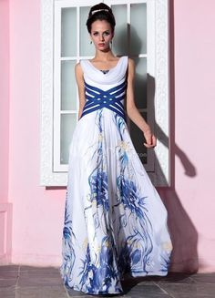 Attractive White Floral Print  #dress #wedding #floral #print