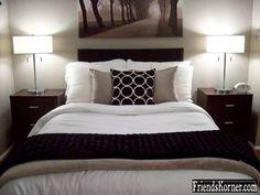 Cute modern bedroom. Simple.