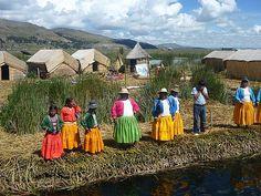 Uros, Lake Titicaca, Lima, Peru