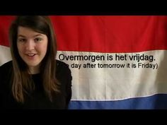 Dutch Language Lesson - ▶ Learn Dutch - the days of the week - YouTube