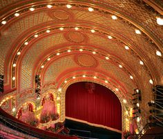 The Theater District. Pictured: Cutler Majestic Theater. A 20-minute walk from the Prudential Center. #bostontheater #boston