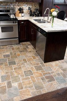 slate floors
