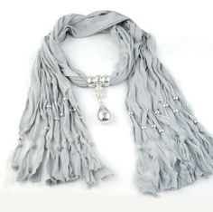 Water Drop Shaped Pend Scarf Charms Wholesale