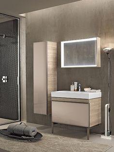 Collection de salle de bains CITTERIO - Meubles point d'eau, composables - 88,4 cm - ALLIA innove pour vous depuis 1892