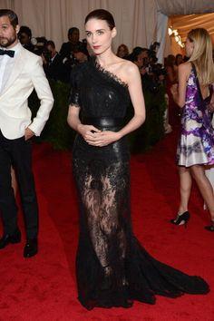2012 MET - Rooney Mara in Givenchy