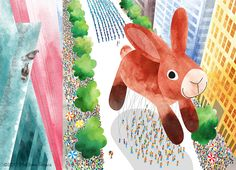 Bunny Balloon by Matthew Rivera :)