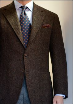 Ivy League Style   Voxsartoria sporting some autumn tones with this...
