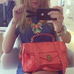 Crazy hair at the hairdresser - @chiaraferragni- #webstagram