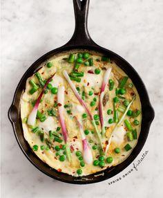 15. Spring Onion Frittata #greatist https://greatist.com/eat/vitamix-recipes