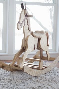 DIY Rocking Horse |do it yourself divas