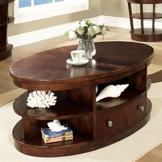 Have To It Somerton Dwelling Montecito Oval Coffee Table 470 4 Hayneedle Tables Pinterest And Center