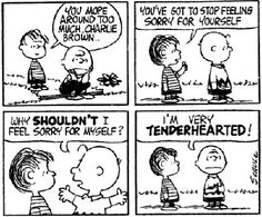 .me exactly, dad called me charlie brown at times