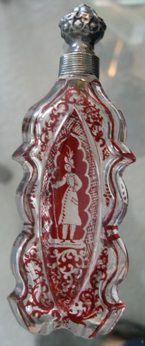 Antique perfume bottle.