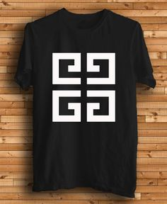 New Givenchy Logo Men Black Color T Shirt Tee by kingclothing, $16.75