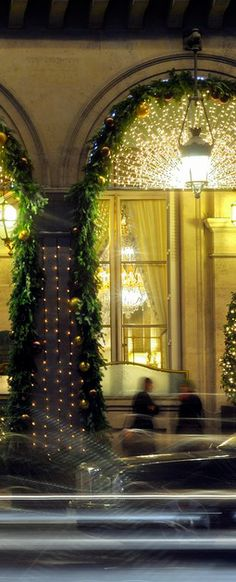 Christmas at Le Meurice, Paris