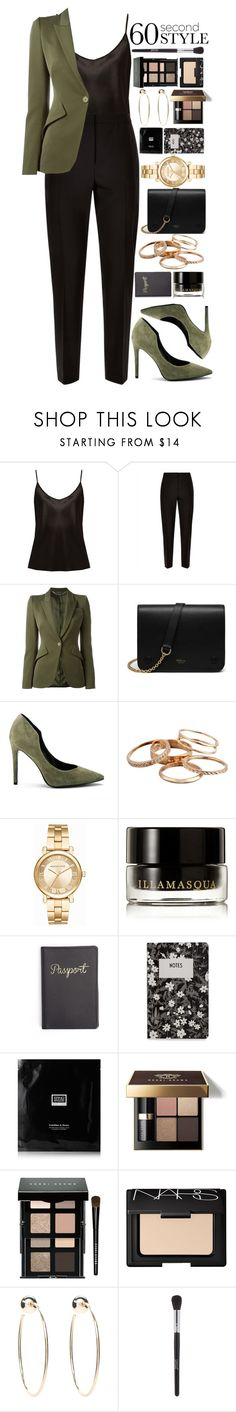 """""""Job Interview"""" by ellac9914 ❤ liked on Polyvore featuring La Perla, Jaeger, Alexander McQueen, Mulberry, Kendall + Kylie, Kendra Scott, Michael Kors, Illamasqua, Design Letters and Erno Laszlo"""