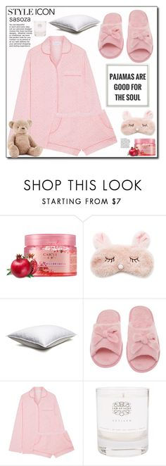 """Friday feeling"" by sasooza ❤ liked on Polyvore featuring Forever 21, Deluxe Comfort, Three J NYC, Law of Sleep and Jellycat"