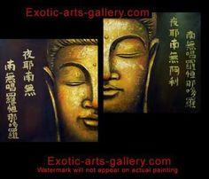 Buddha Painting Buddha Feng Shui Painting Abstract Art 1