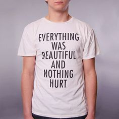 Everything Was Tee Men's White, $20, now featured on Fab.