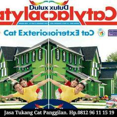 Cat Tembok Exterior, Cat Dinding Luar Rumah