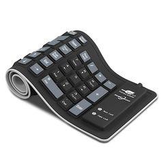 Foldable Silicone Keyboard USB