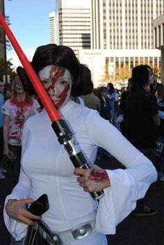 zombie princess leia #costume #cosplay