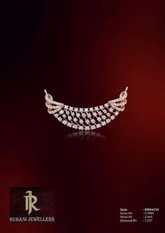 Tanmaniyas Diamond Mangalsutra, Gold Mangalsutra Designs, Diamond Necklace Set, Diamond Bangle, Black Gold Jewelry, Jewelry Drawing, Jewels, Wedding, Collection