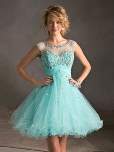 Attractive Rose Ball Gown Sweetheart Neckline Mini Homecoming Dress