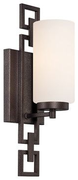 Designers Fountain 83801-FBZ Wall Sconce - transitional - Bathroom Vanity Lighting - Lighting Front