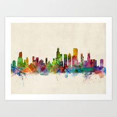 Chicago City Skyline