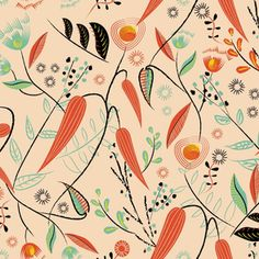 Shop Over 1 Million Fabric Designs | Spoonflower Fabulous Fabrics, Brush Strokes, Fabric Flowers, All Design, Custom Fabric, Spoonflower, Fabric Design, Mid-century Modern, Craft Projects