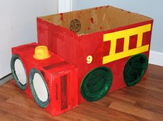 ATTACK OF THE CRAFT: Recycled Fire Truck