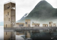 Andalsnes Master Plan proposal / Jagnefält Milton