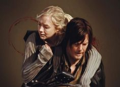 Daryl Dixon and Beth Greene - Bethyl | Normily | The Walking Dead, twd couple