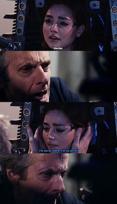 Doctor. >> I absolutely love Twelves relationship with Clara.