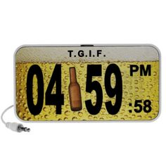 Shop for the perfect fun gift from our wide selection of designs, or create your own personalized gifts. Cool Gifts, Best Gifts, Create Yourself, Create Your Own, Flip Clock, Tgif, Speakers, Personalized Gifts, Beer