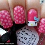 Nail Art Design Ideas For Kids With Short Nails 005