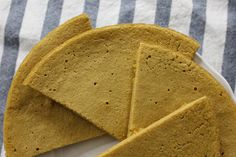 Three-Ingredient Paleo Plantain Flatbread - SO SIMPLE and pretty satisfying. The texture would hold up well to be dunked in soup, but I didn't have the patience to wait. I blended in 2 Tablespoons of flax seeds. Next time I'd add even more salt, and maybe try some Italian herbs in it.