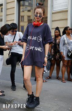 Yu Yang > Street Fashion   힙합퍼