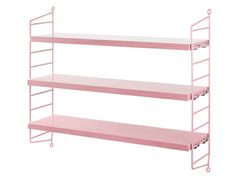 String Pocket Pink Shelving