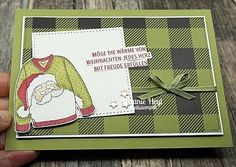 Christmas Sweaters - Stampin' Up!