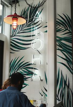 Neon Lighting Bedroom Inspiration 30 Ideas For 2019 Azulejos Diy, Wallpaper Inspiration, Bedroom Inspiration, Painting Inspiration, Wallpaper Ideas, Custom Neon, Diy Bathroom, Bathroom Green, Bathroom Signs