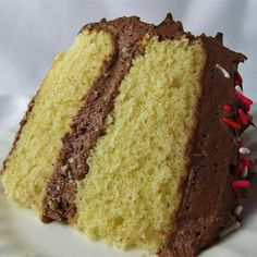 Yellow Cake Made from Scratch Recipe | Allrecipes