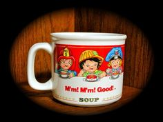 Vintage 1993 Campbell's Soup Mug (Campbell's Kids) (14 oz) Campbell http://www.amazon.com/dp/B00DGHXRPE/ref=cm_sw_r_pi_dp_6Lo5ub1XRARBR